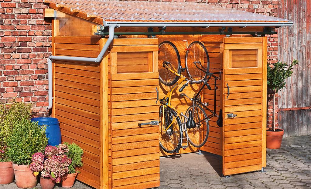 Bikeport bauen