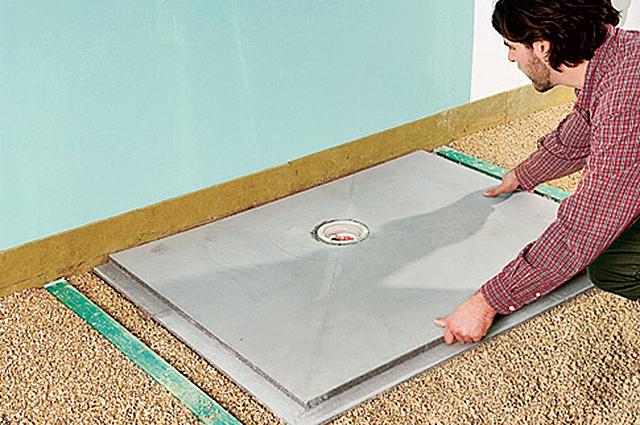Top Bodengleiche Dusche selber bauen | selbst.de XS95