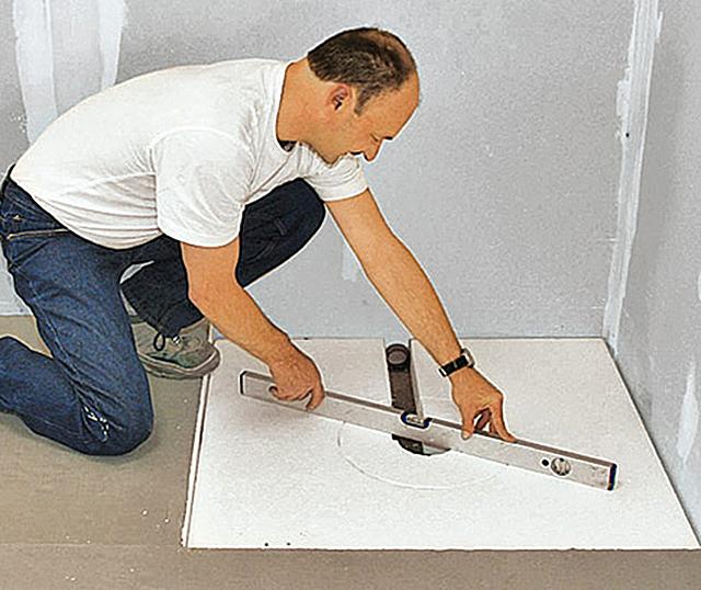Relativ Bodengleiche Dusche selber bauen | selbst.de VL03