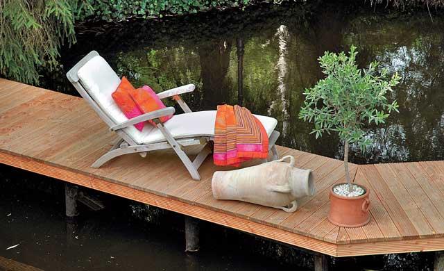 bootssteg bauen. Black Bedroom Furniture Sets. Home Design Ideas