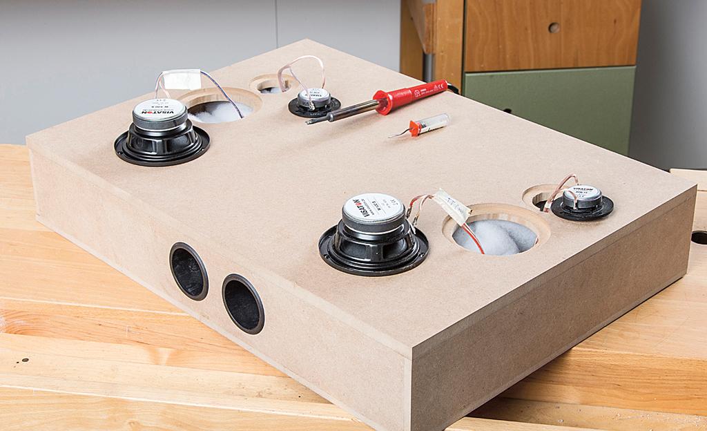 Küchenwagen mit Lautsprecher