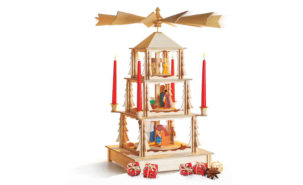 weihnachts karussell holzspielzeug krippen. Black Bedroom Furniture Sets. Home Design Ideas