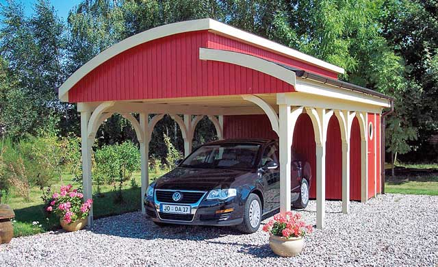 Carport bausatz carport einfahrt for Joda carport