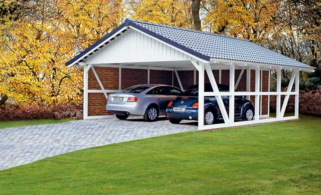 carport bausatz carport einfahrt. Black Bedroom Furniture Sets. Home Design Ideas