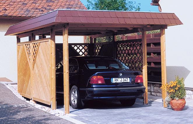Einzelcarport von Skan Holz