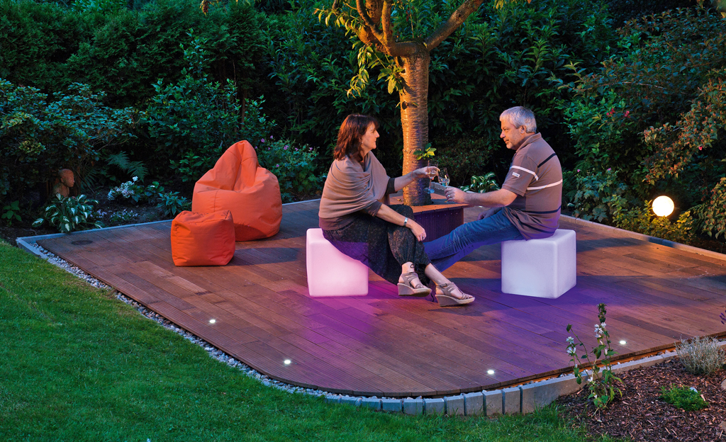 Chill Out Terrasse Selbst De