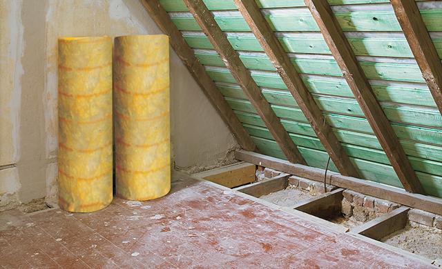Утепление чердачной крыши или мансарды.