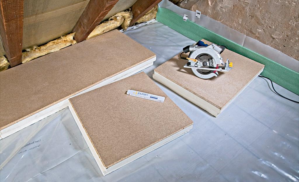 Dach Fußboden Dämmen Anleitung ~ Dachbodendämmung selbst