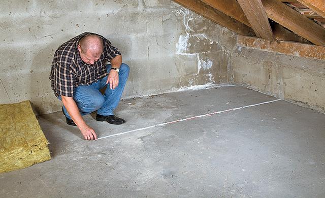 Fußboden Günstig Dämmen ~ Dachboden dämmen selbst