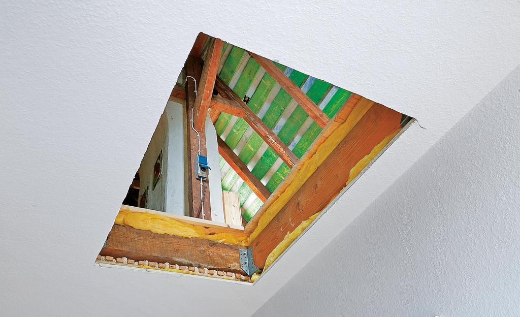 Bekannt Dachbodentreppe einbauen | selbst.de YE93