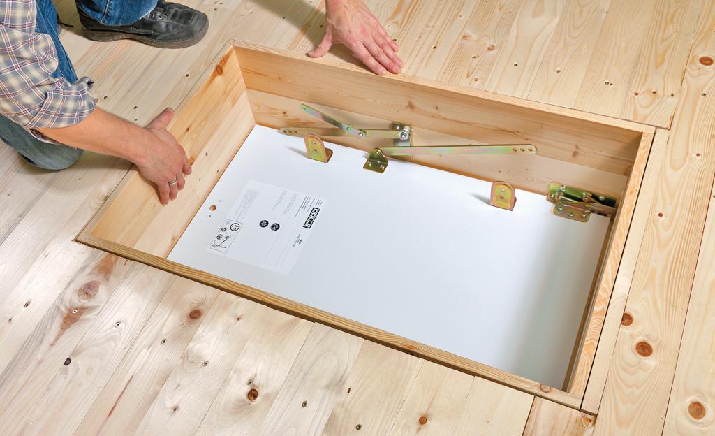 Bekannt Dachbodentreppe einbauen | selbst.de NE24