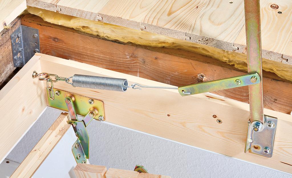 dachbodentreppe einbauen dachausbau bild 18. Black Bedroom Furniture Sets. Home Design Ideas