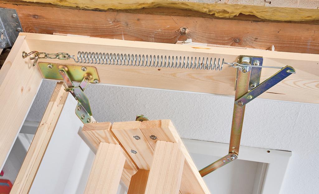Turbo Dachbodentreppe einbauen | selbst.de HX24