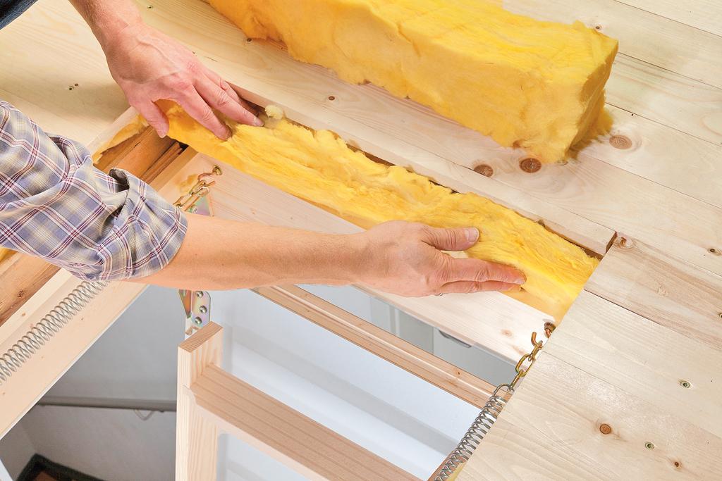 Bevorzugt Dachbodentreppe einbauen | selbst.de KP95