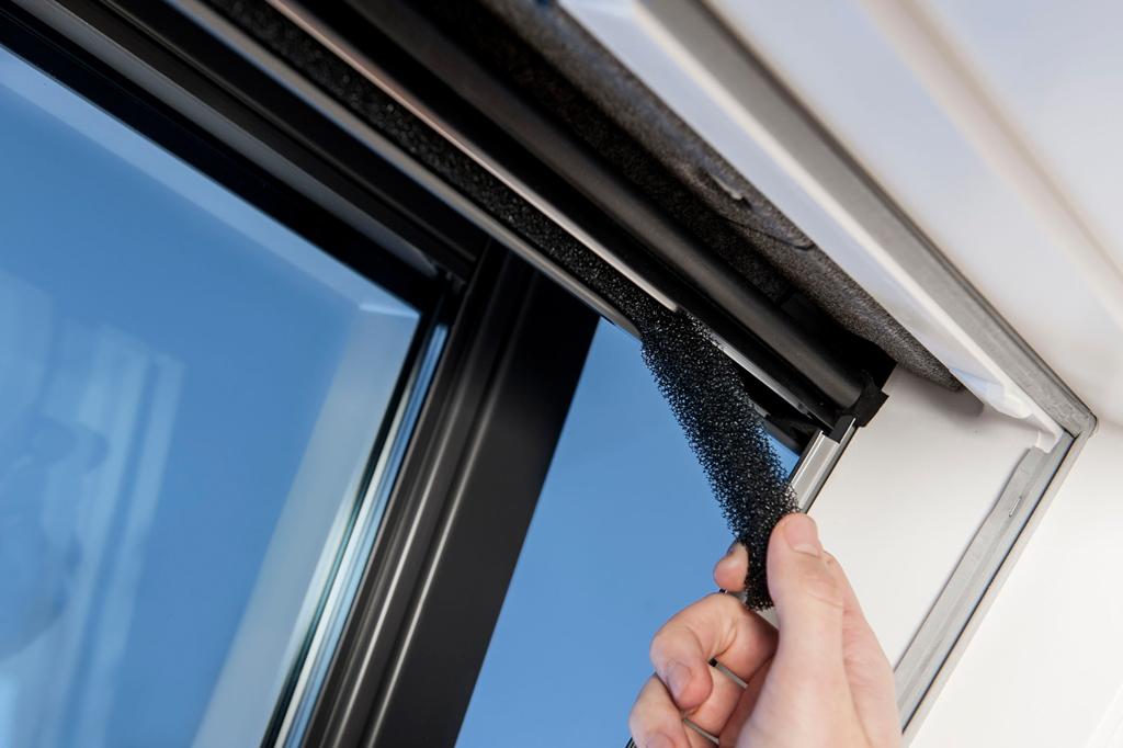Velux dachfenster undicht