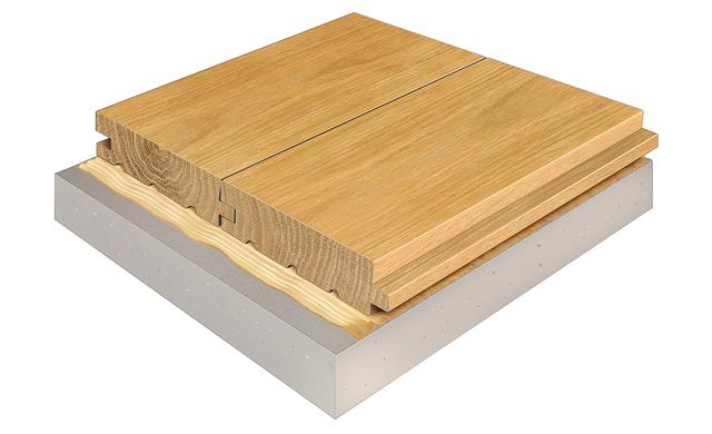 Holzfußboden Verlegen ~ Dielenboden verlegen selbst