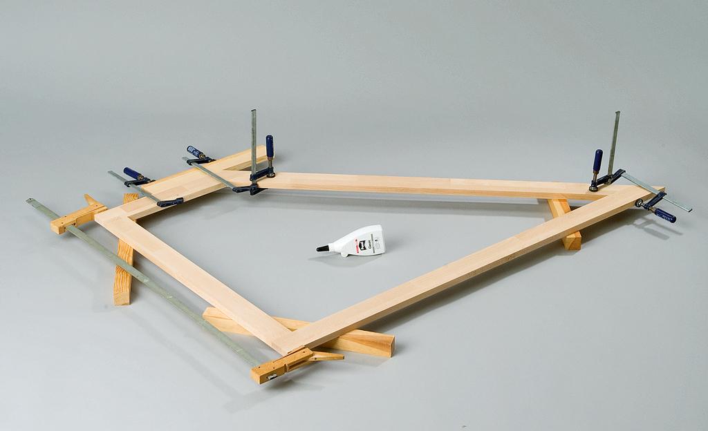 Drempel-Schrank bauen