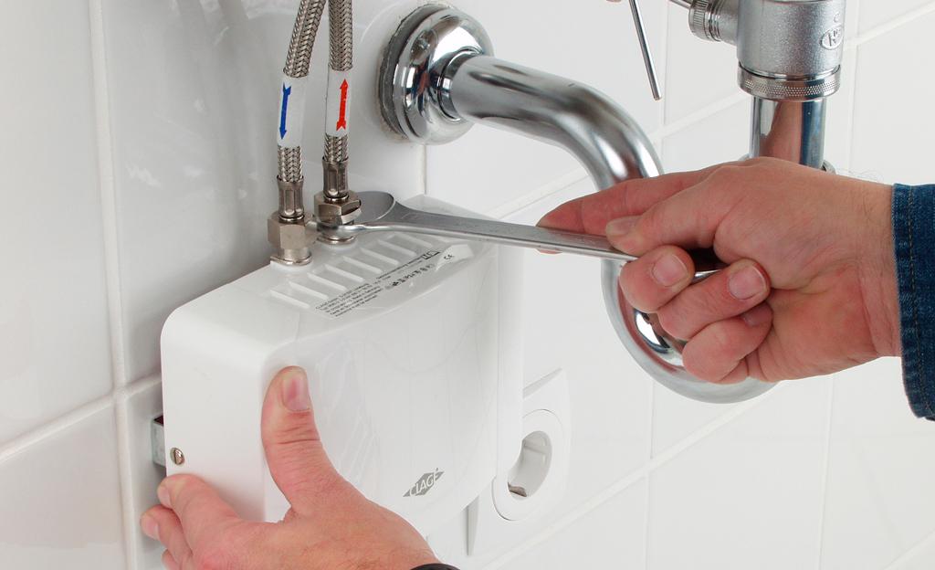 Bekannt Durchlauferhitzer installieren | selbst.de NE49