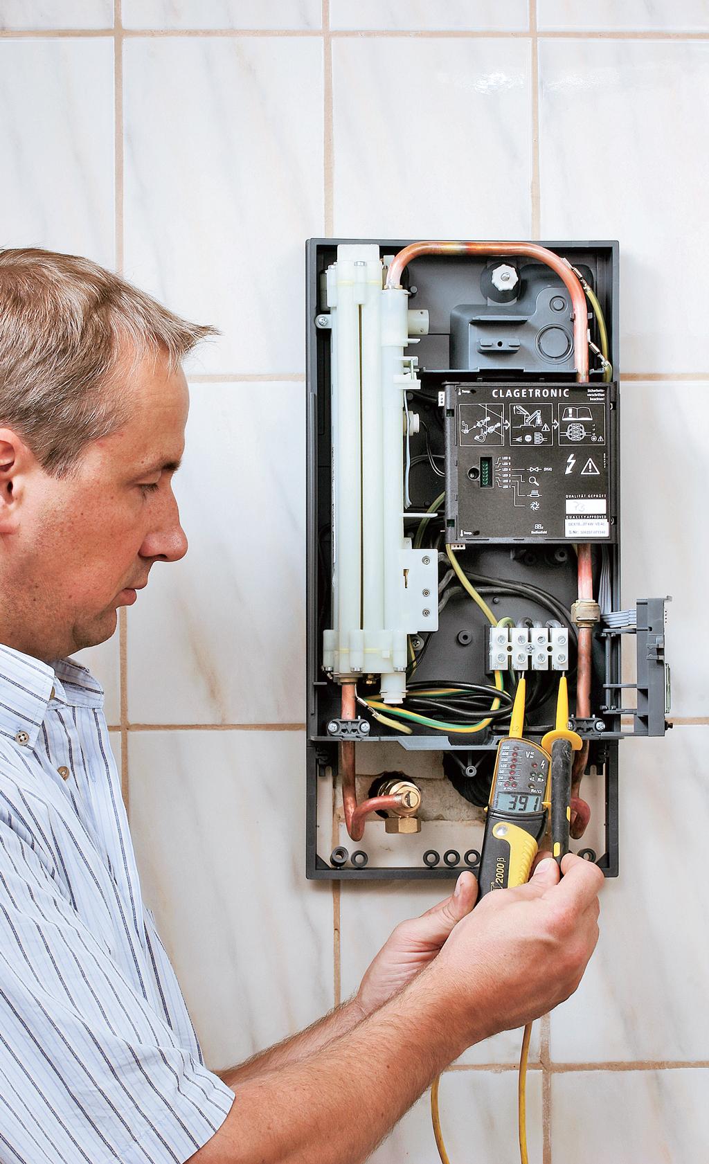 Hervorragend Elektronischer Durchlauferhitzer | selbst.de SL94