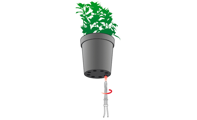 Hervorragend Kräutertopf mit Bewässerungssystem | selbst.de JV43