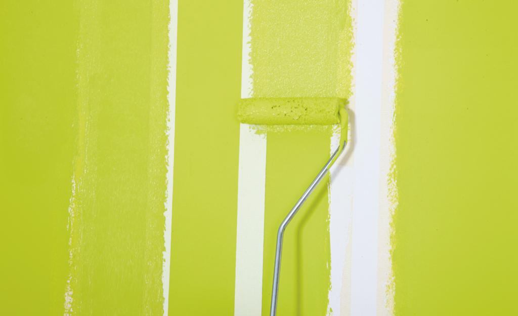 Streichen farbe in streifen farben tapeten - Streichen ohne streifen ...