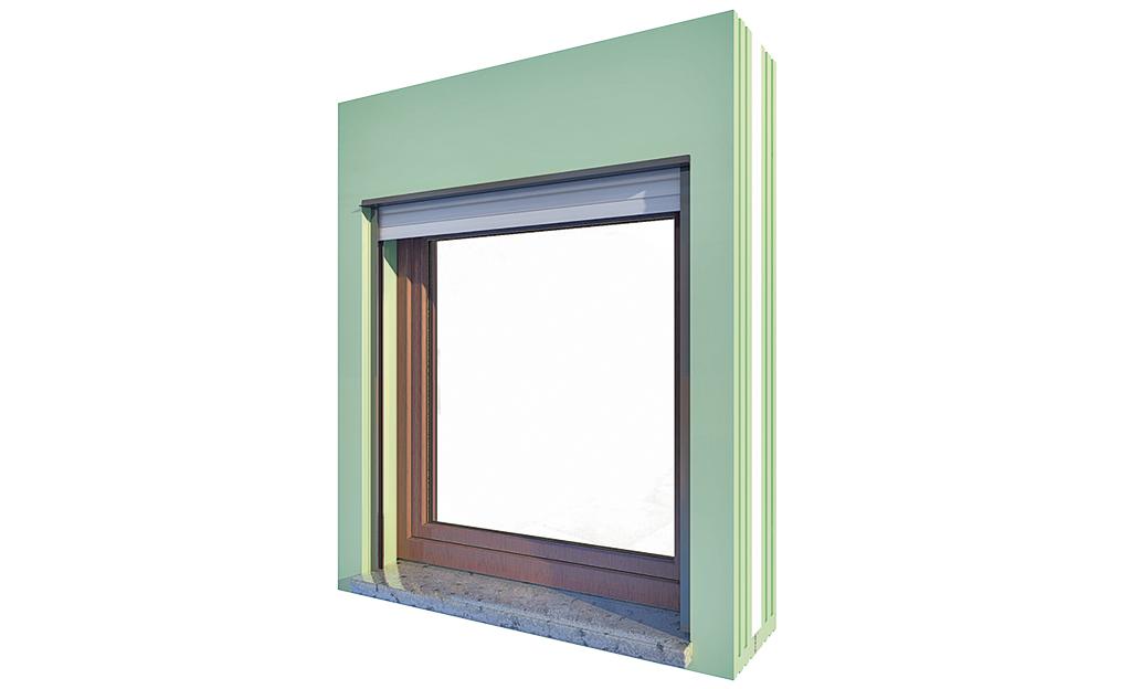 Fenster einbauen