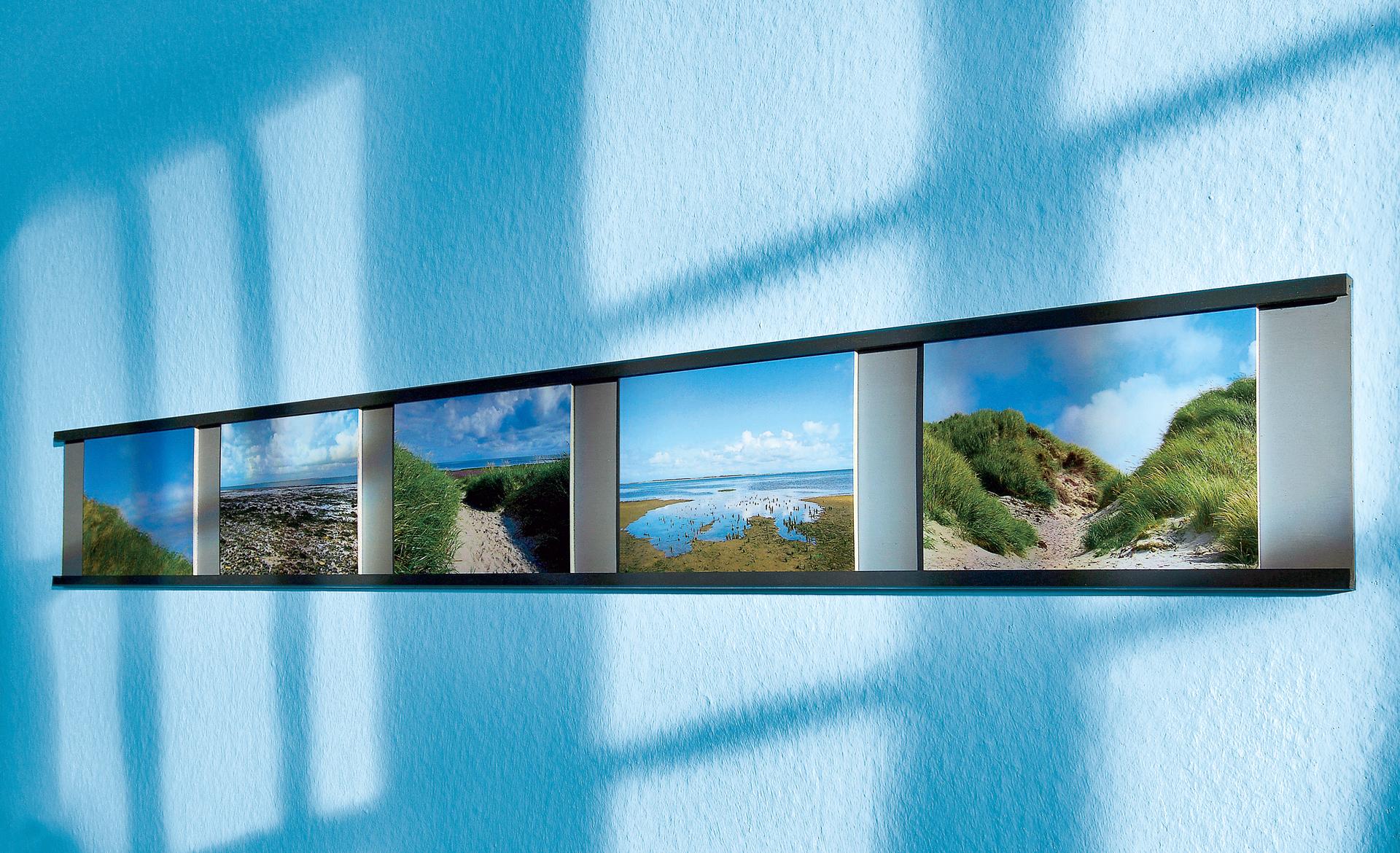Wand Fotoleiste Basteln Selbstde