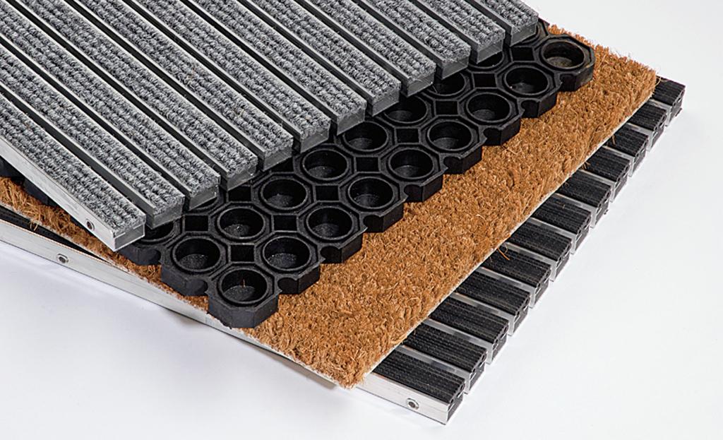 Fußmatte: Fußabtreter einbauen