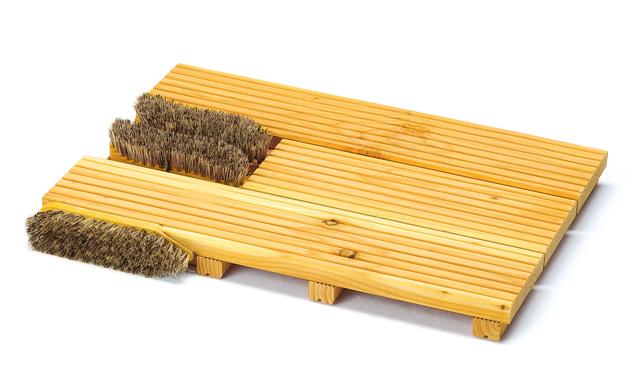 Schmutzfangmatte bauen