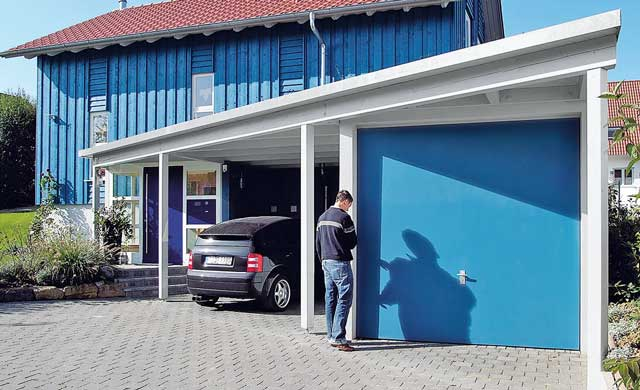 Garagen Fertig Dekoration : Fertiggaragen carport einfahrt selbst
