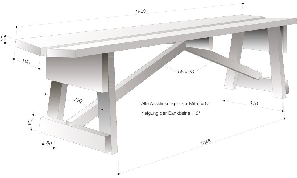 Favorit Holzbank | selbst.de FR51