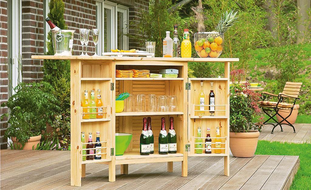 Gartenbar for Hausbau ideen bauplane