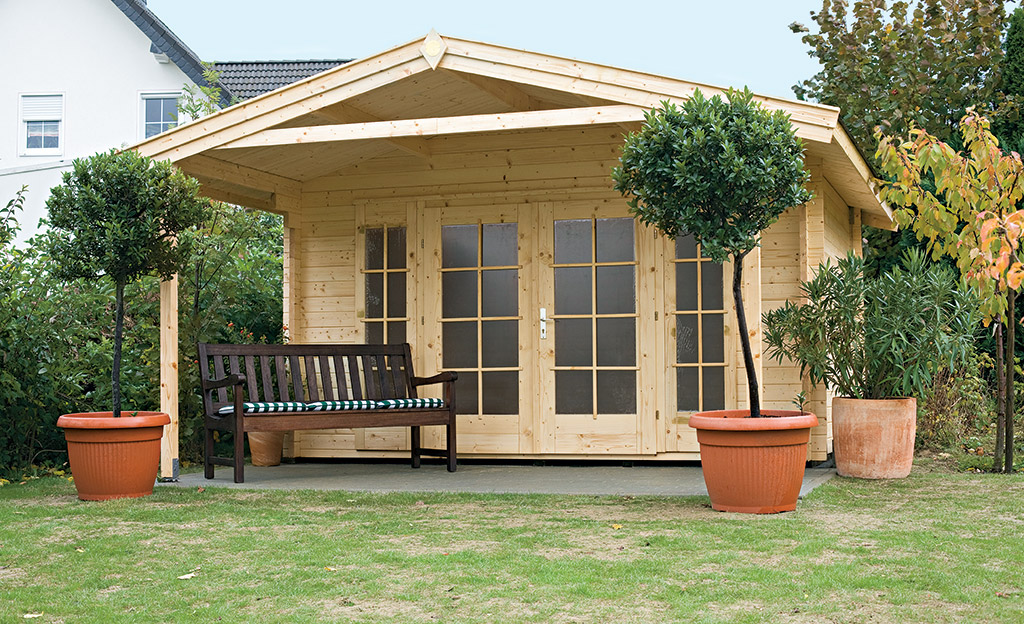 gartenhaus bausatz gartenhaus carport. Black Bedroom Furniture Sets. Home Design Ideas