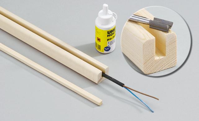 gartenleuchte bauen gartentechnik. Black Bedroom Furniture Sets. Home Design Ideas