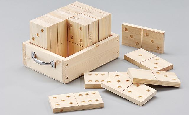 Holz Dominosteine Selbstde