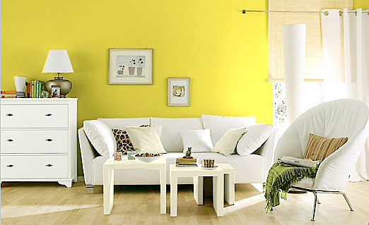 Kuche Gelbe Wand : Schlafzimmer Wand Streichen Ideen Raumgestaltung ...
