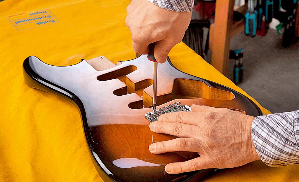 Gitarre bauen