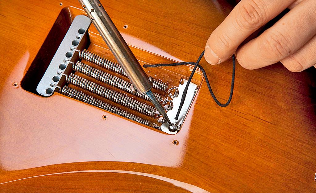 E-Gitarre bauen