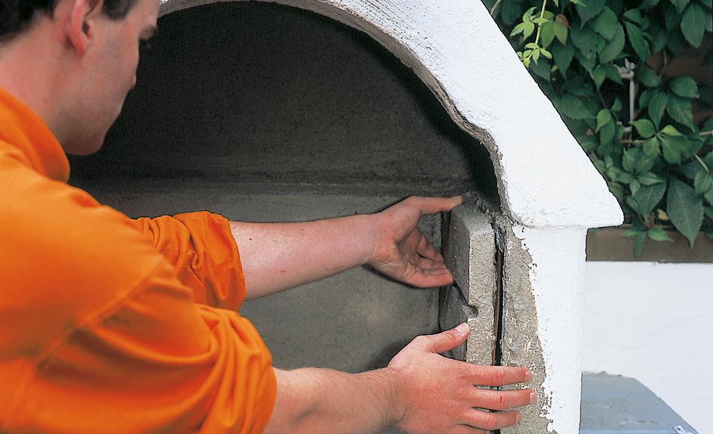 Grillkamin reparieren