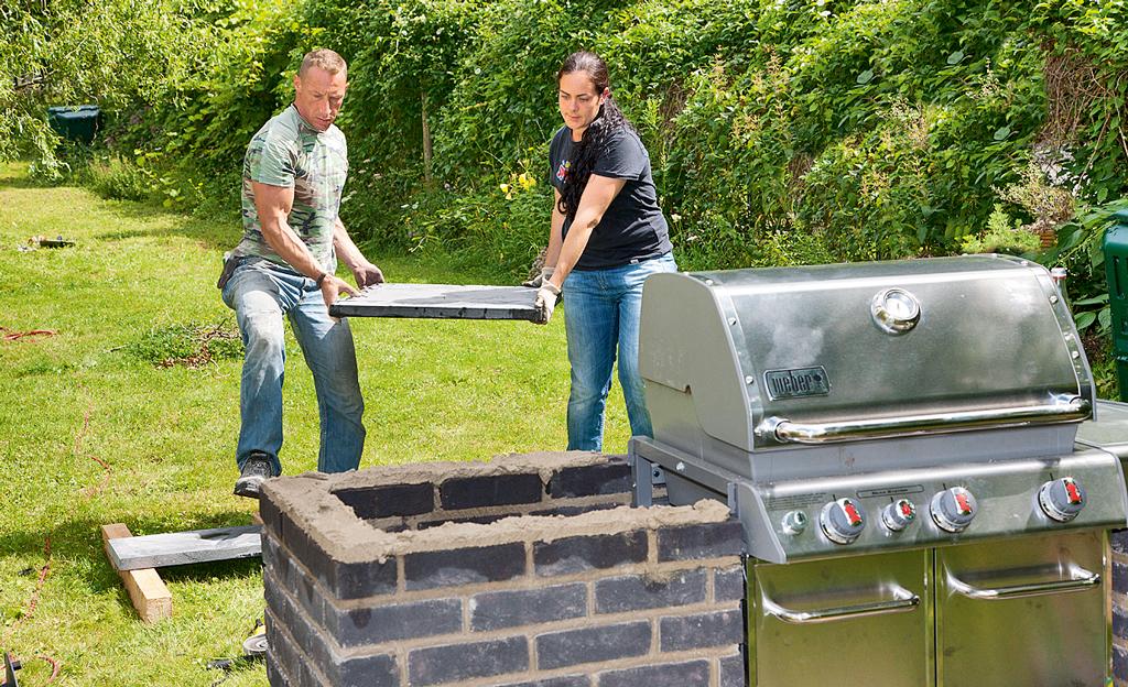 Gas grill selber bauen