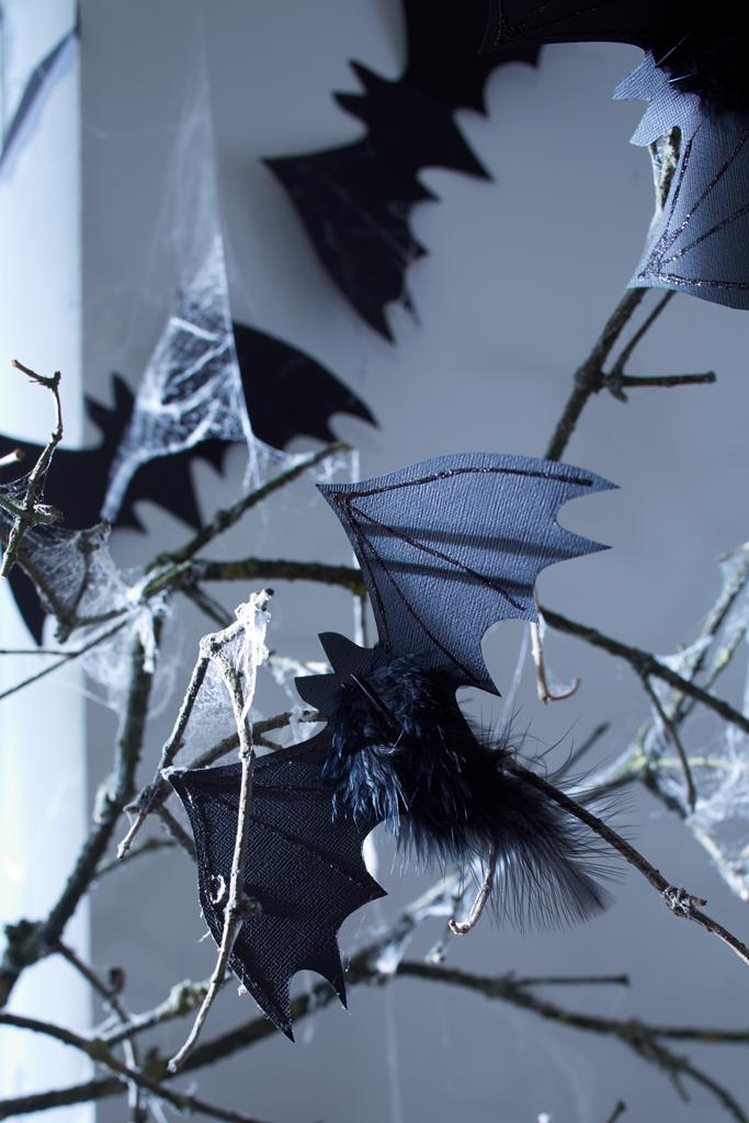 halloween papier fledermaus basteln. Black Bedroom Furniture Sets. Home Design Ideas