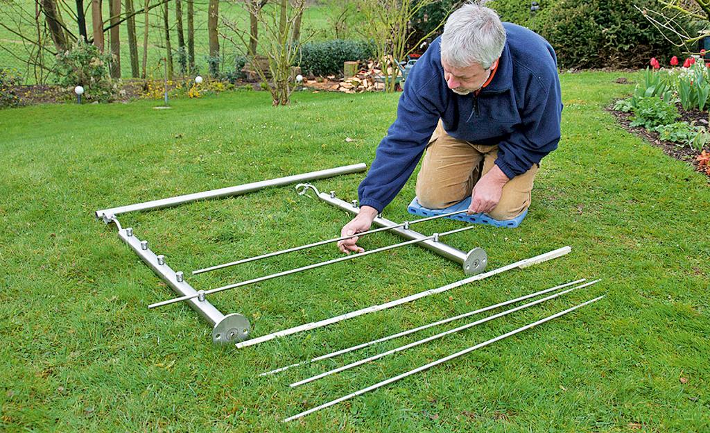 Treppen-Geländer montieren