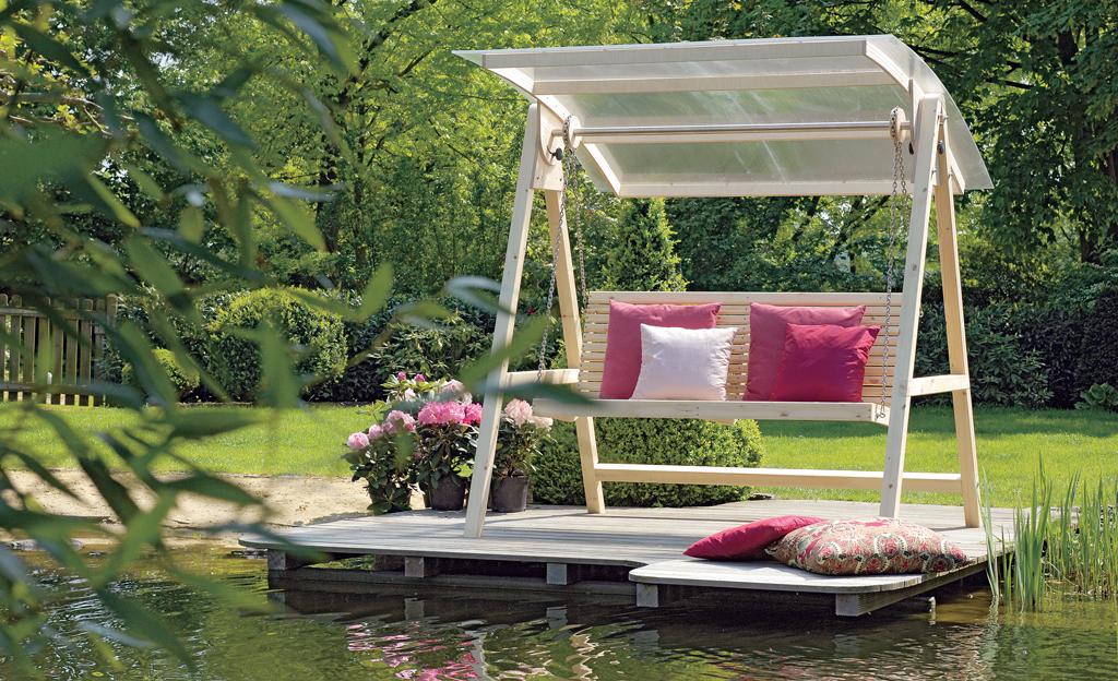 hollywoodschaukel selber bauen. Black Bedroom Furniture Sets. Home Design Ideas