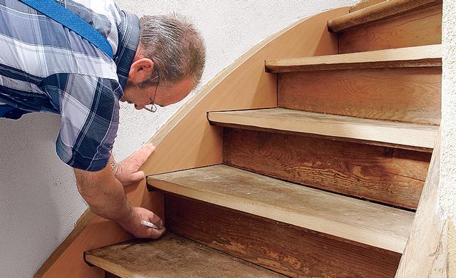 Bevorzugt Holztreppe renovieren | selbst.de LP98