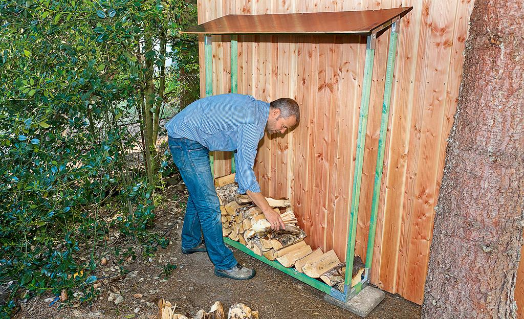 Brennholz lagern | selbst.de
