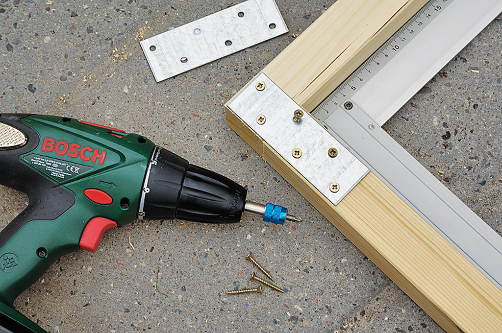 Kaminholz-Schuppen bauen