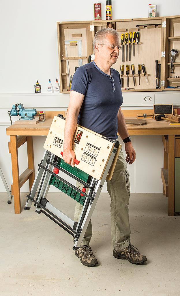 Klapp-Arbeitstisch von Bosch