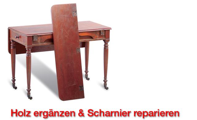 tisch restaurieren restaurieren reparaturen. Black Bedroom Furniture Sets. Home Design Ideas