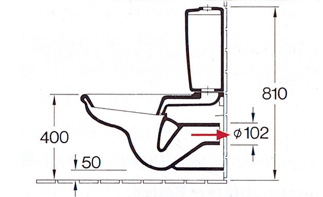 Bevorzugt Stand-WC mit Spülkasten   selbst.de XN32