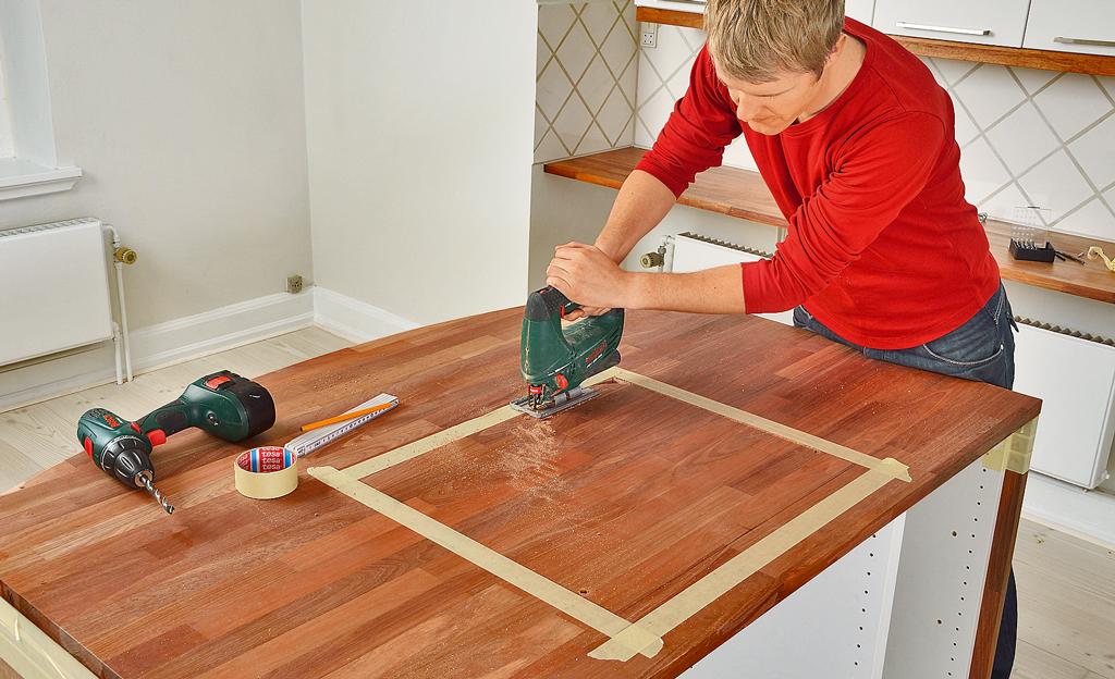 Kücheninsel Bauanleitung ~ kochinsel bauen küche renovieren bild 25 selbst de